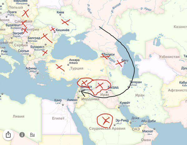 Через какую страну можно улететь в египет