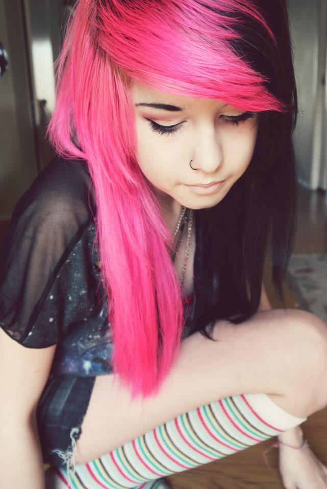 Color del pelo de Emo y estilos - Eximbankercom