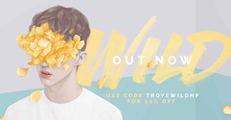 As a special gift HP & Troye Sivan are offering 20% off his latest Wild album for today only: http://t.co/vnIHGU691z http://t.co/7g9W75Oh5b