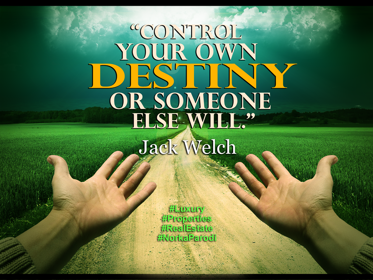 Norka Parodi On Twitter Control Your Own Destiny Or Someone Else