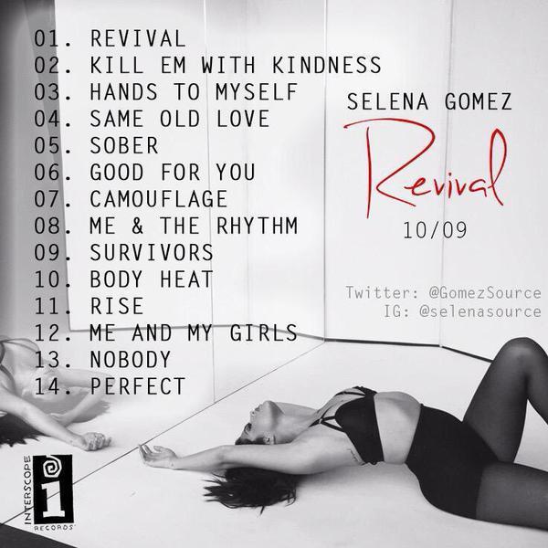 Survivor » Selena Gomez | REVIVAL [Cancelado] COgiValUcAAmKok
