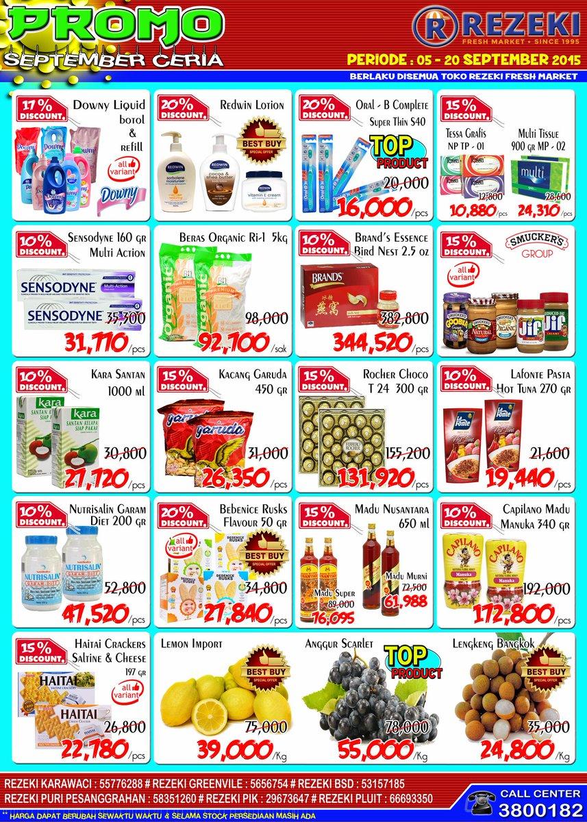 Rezeki Fresh Market Promo Twitter Nutrisalin Garam Diet 400 Gr 0 Replies Retweets Likes
