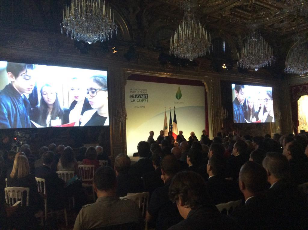 [#GoCOP21] Lancement de la séquence sur la mobilisation des #jeunes #COP21 http://t.co/82mUzb1px4