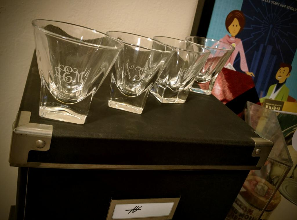 #PlusUltraDay treasured gift: engraved shot glasses inspired by @EWDocJensen & @Jonathan_Case's #BeforeTomorrowland! pic.twitter.com/WgTg2Nv6wi