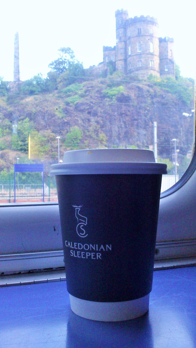 The only way to start your day in #Edinburgh - bring on #ccii2015! http://t.co/djnpAZstfC