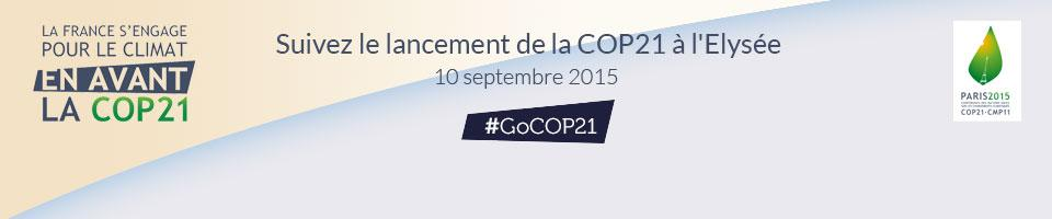 Thumbnail for Lancement de la COP21 à l'Elysée #GOCOP21 !
