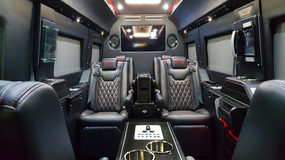 521e7a0b2d Tailgate in style  nick saban rolls out limited edition  200k benz luxury 9-passenger  van - scoopnest.com