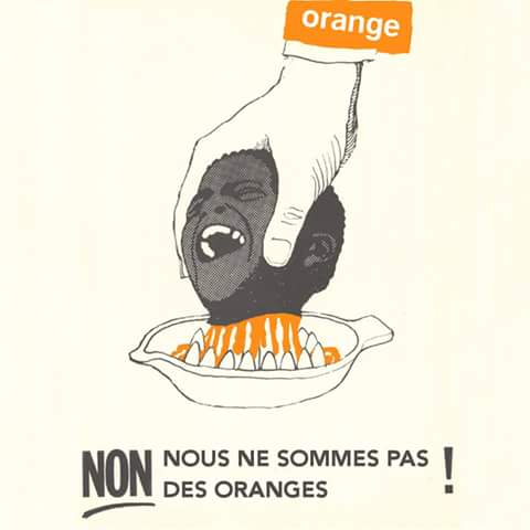 #Senegal #Kebetu journée boycot des produits @orange_sn du 1er octobre au 2 octobre. Max RT. On passera pas au mixeur http://t.co/pTONtbnFaJ