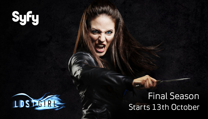 #LostGirl - The Final Season hits Syfy on 13th October at 9pm. It's going to be one hell of a finale... http://t.co/iUxoKMena9