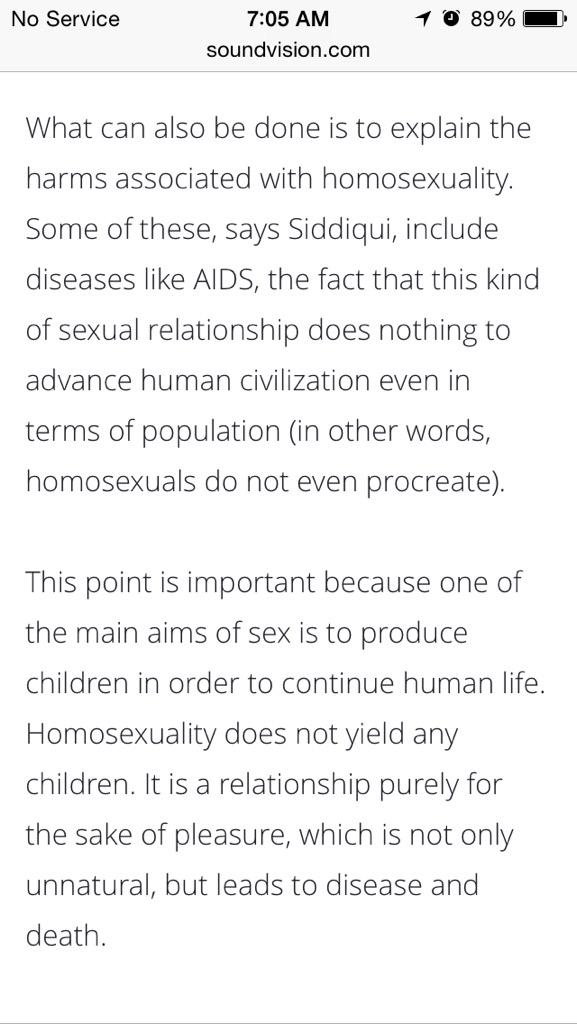 Why sex is important in human life