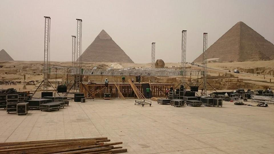 Building the 4th Pyramid #FSOE400EGY http://t.co/0p9pYlkeKL