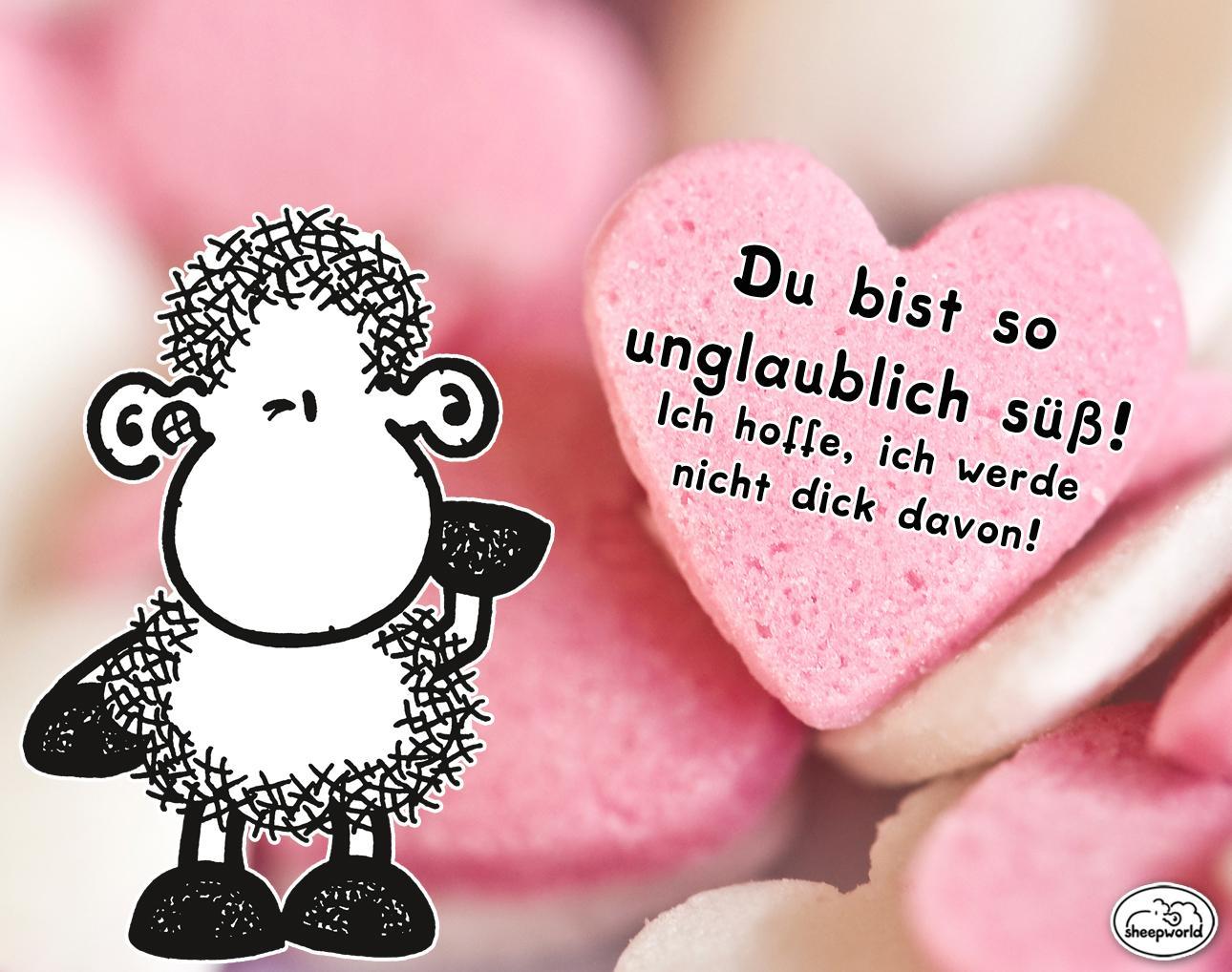 sheepworld on Twitter: Du bist so #süß, kein Wunder, dass