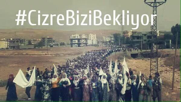 Thumbnail for Freedom march to Cizre, Şırnak to unblock the Military Curfew