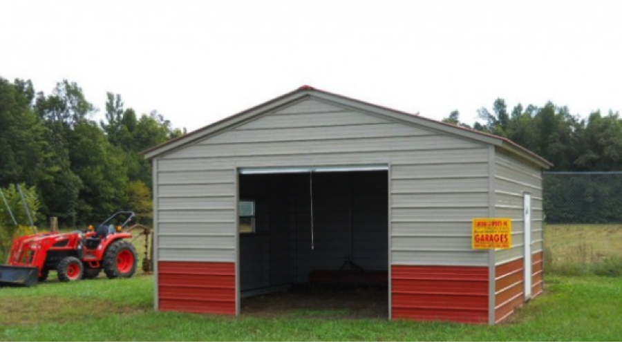 Carport Central On Twitter A 20x 21x9 Vertical Roof Twotone Garage