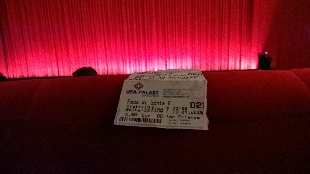 """Heute in """"Fuck ju Göhte 2"""" @ufakristallpalast #Kino #aufgeregtpic.twitter.com/fYrBk9IB4x"""