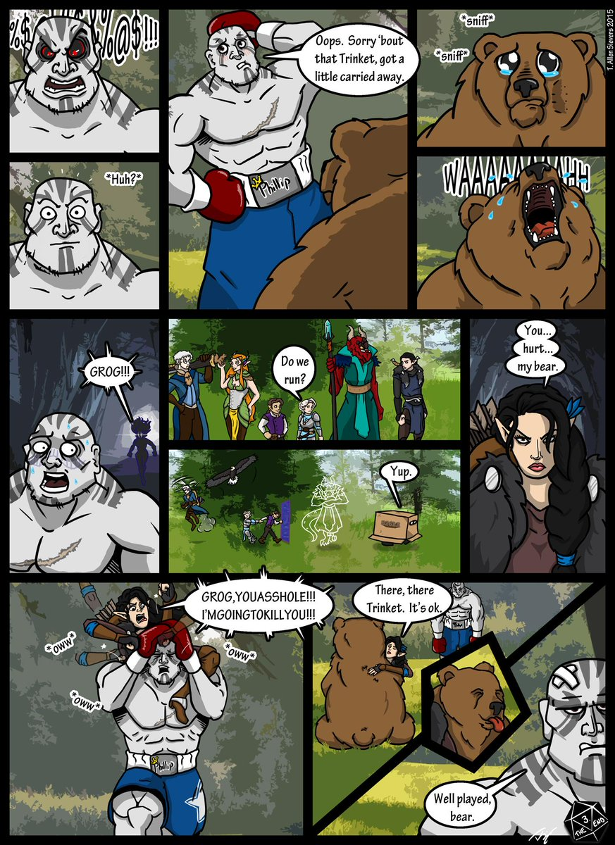 Road To The Rematch A Critical Role Fan Comic Criticalrole Will i still be able to enjoy this story? reddit