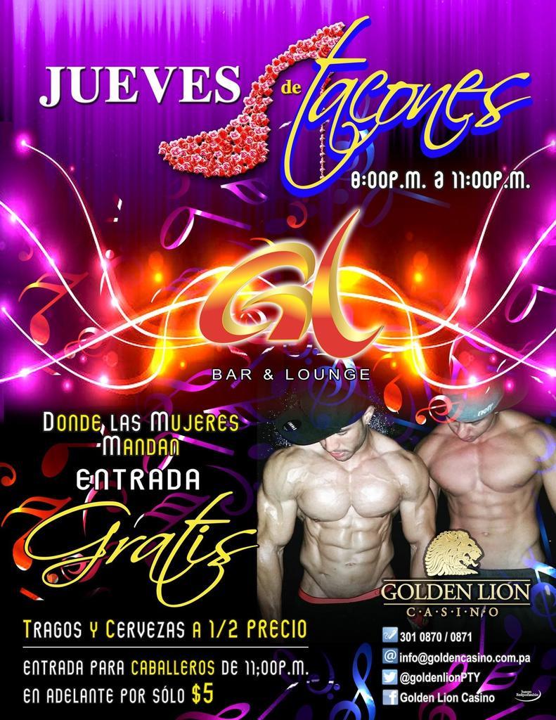 golden lion casino promociones