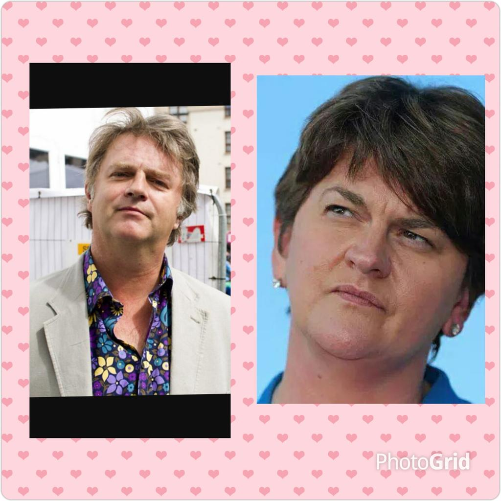 Emma G On Twitter Dup S Arlene Foster And Paul Merton