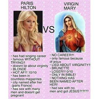 Paris hilton virginity