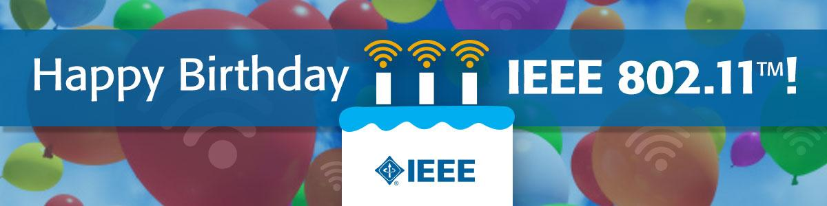 Congratulations @IEEESA for 25 years of standards! Let the Wi-Fi innovation continue for years to come. #IEEE802.11 http://t.co/wLbtHqZJqV