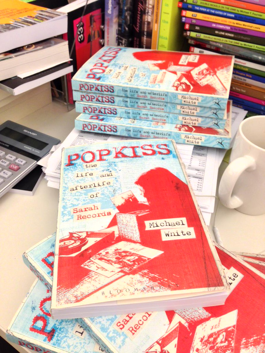 IT'S EARLY! RT to win a copy of POPKISS, the Sarah Records book on sale 11/19-preorder here http://t.co/Gdz8BnLnUQ http://t.co/RkjjoJQi81
