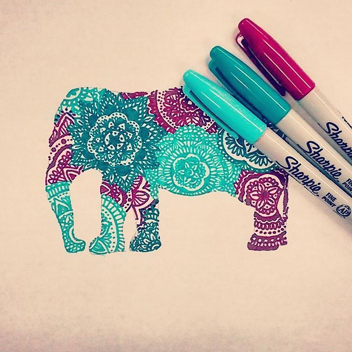 Gallery For gt Colorful Things To Draw