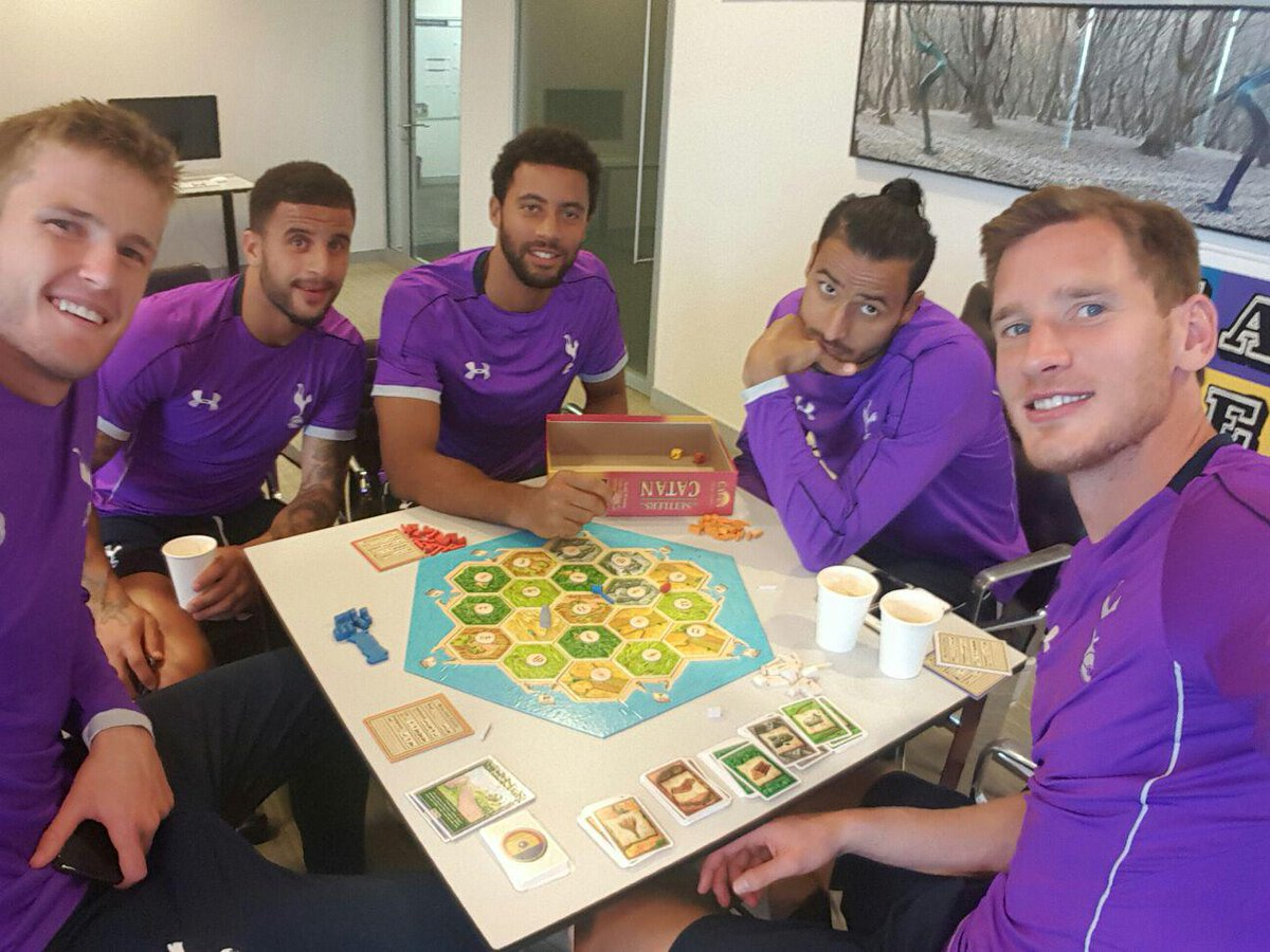 Board games Tottenham players should be playing instead of Settlers of Catan: RANKED