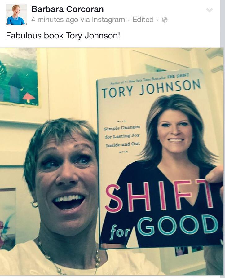 Tory Johnson On Twitter This Bodes Very Well For Shiftforgood