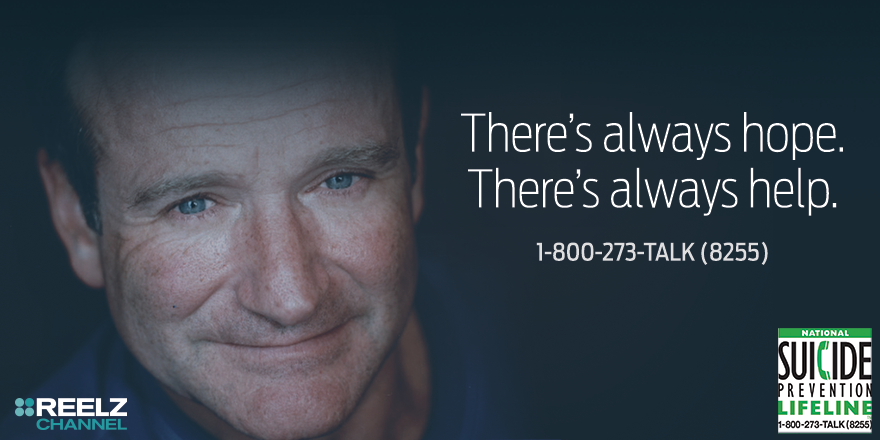 Remembering Robin Williams on #WorldSuicidePreventionDay. Help is out there. #YouMatter @800273TALK http://t.co/eQrCx3wClx