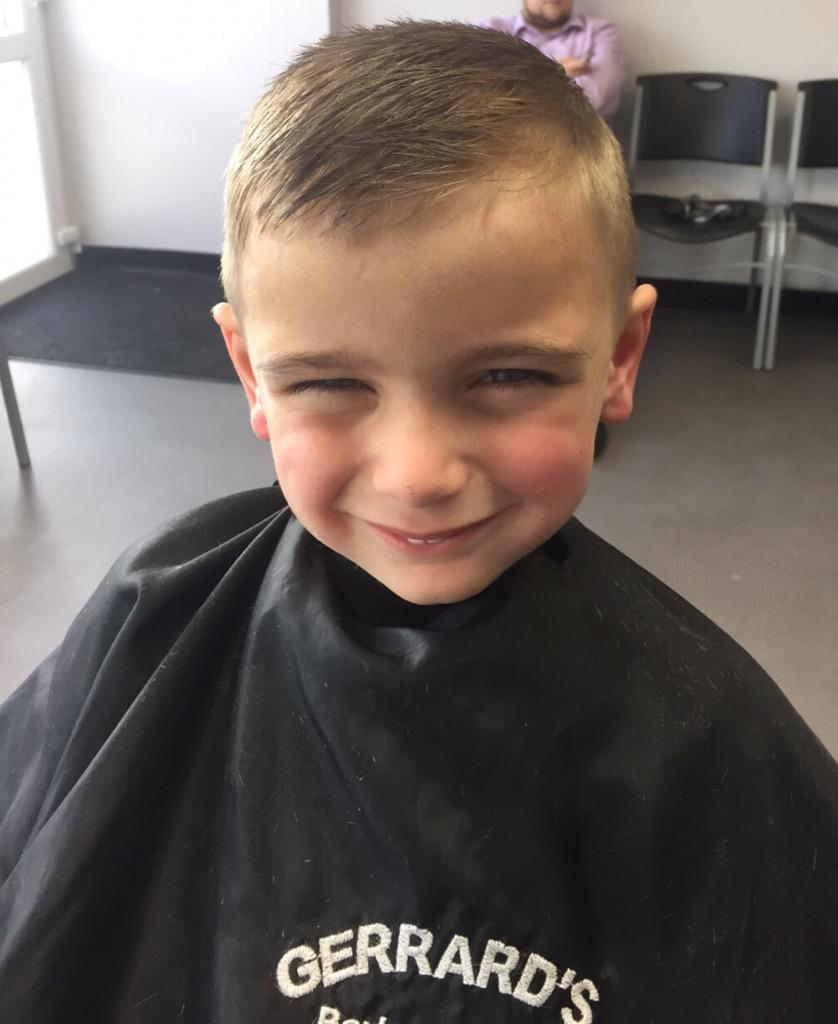 Gerrards Barber Shop On Twitter Big Boys Haircut For Leyton Today