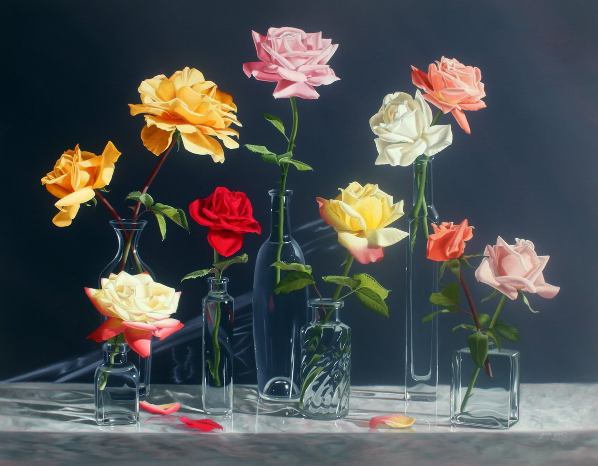 I love the florals of Jane Jones, showing at Sugarman Peterson Gallery. More @ArtMags: https://t.co/L3QdlwEuYL #art http://t.co/OWjNO9mH7a