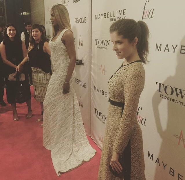 Look who is taking on another #NYFW! She's at the Fashion Media Awards now. http://t.co/8HYtQL6HuZ