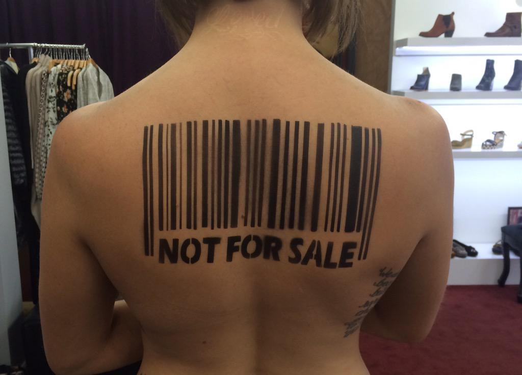 """Behind the scenes w/@DBPLA """"Not 4 Sale"""" anti-human trafficking campaign #EndHumanTrafficking #EndSexSlavery http://t.co/hc440itpIx"""