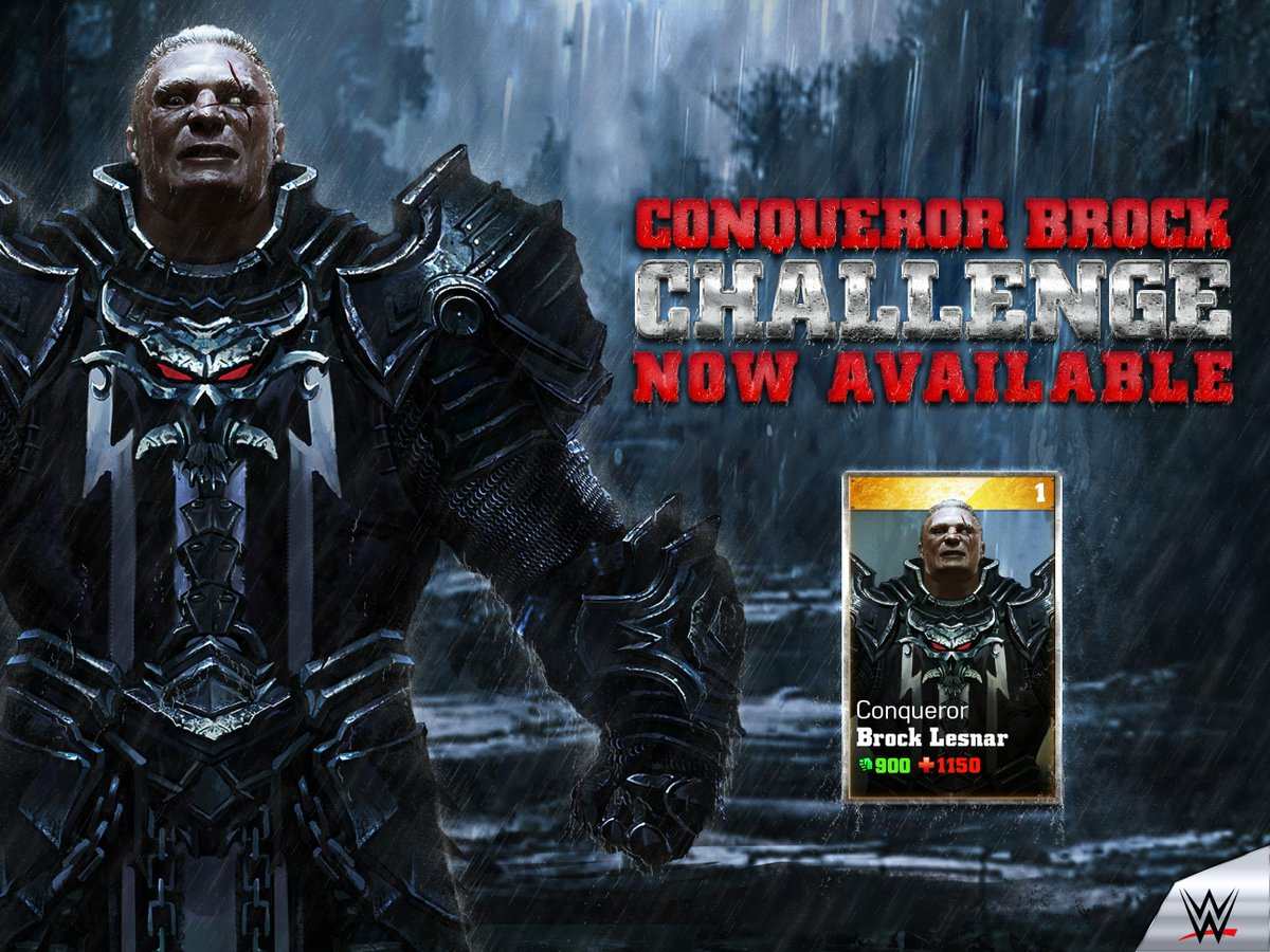 Immortals On Twitter Conqueror Brock Lesnar Has Arrived In WWE Play The Challenge Today Suplexcity Tco FlxB7iLzGp