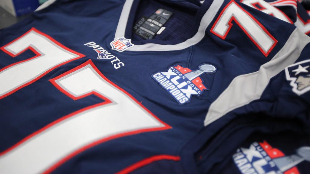 """on sale 7ae63 f0142 New England Patriots ar Twitter: """"Did we mention the team is ..."""