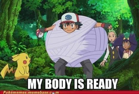 Dear #Nintendo,  My body. Is ready!   #SUATMM #PokemonGo. http://t.co/12R1cxfdCt