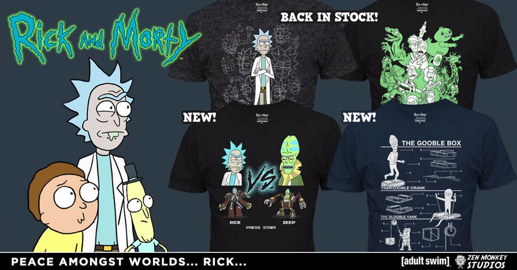 justin roiland on twitter more amazing rick and morty s2 shirts