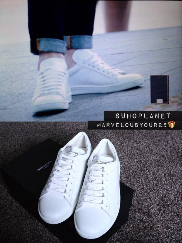 Sl/01 Court Classic Leather Sneakers Saint Laurent