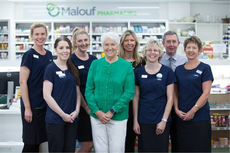 Malouf Pharmacies On Twitter Filming Of A New Commercial Starring Olympic Gold Medallist Dawn Fraser At Our Maroochydore Dawnfraser