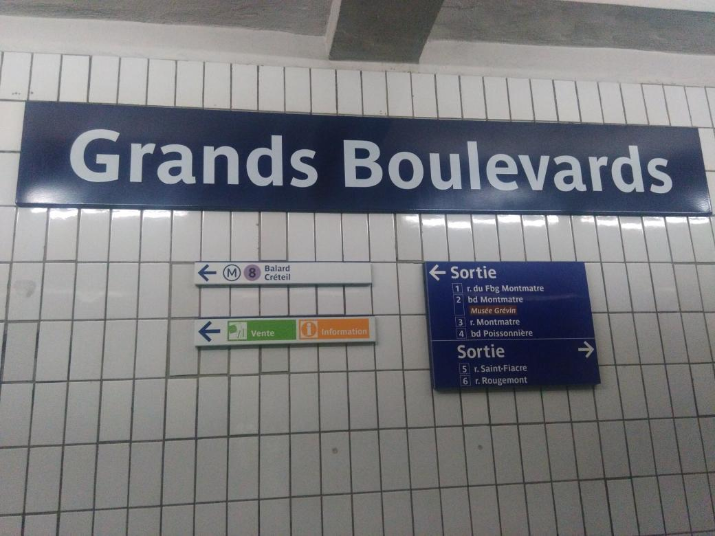 RATP : courant d'air sur l'orthographe