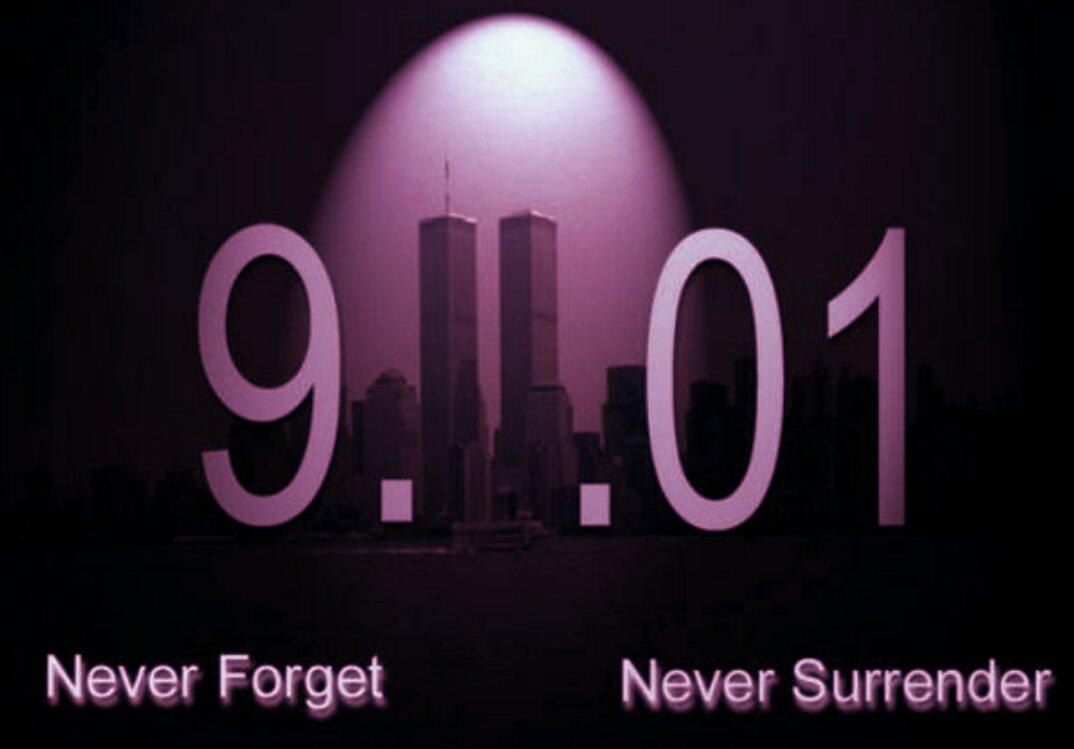 14 years today! #NeverForget911 http://t.co/3TiotO0yON