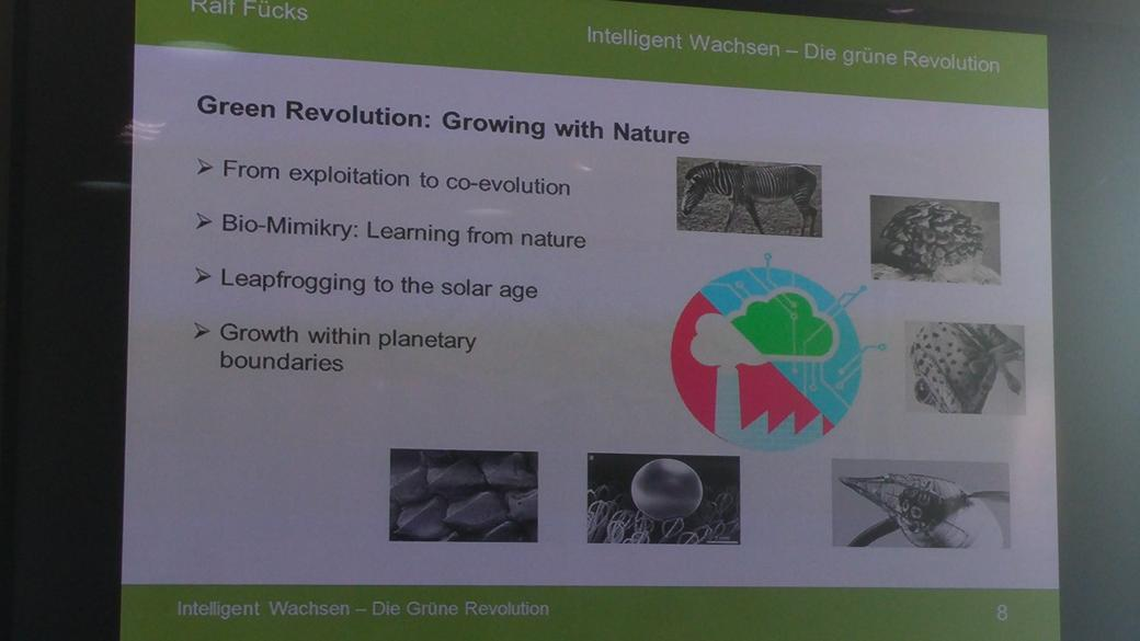 "#GreenGrowth means ""growing with nature"" rather than exploiting nature - @fuecks http://t.co/a515RC7sLY"