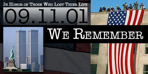 In honor of September 11th, 2001 #NeverForget911 http://t.co/Z33DdK9suS