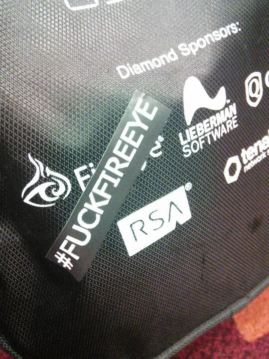 #fuckfireeye bag modification... http://t.co/poj9yCzlUB