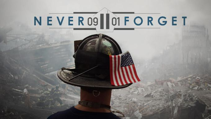 Today we honor lives lost on 9/11. We'll #neverforget. http://t.co/1CZkDFbUFp