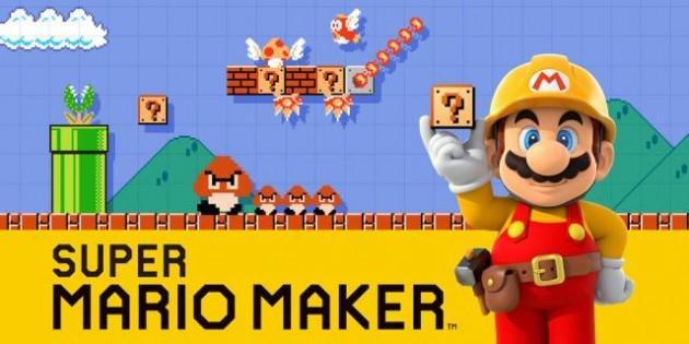 Esce oggi Super Mario Maker.
