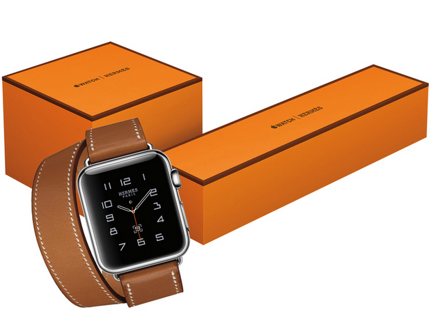EXCLUSIVE Hermès and Apple have joined forces to launch a new Apple watch: http://t.co/P7ngykHtUT http://t.co/bZVy2axnok
