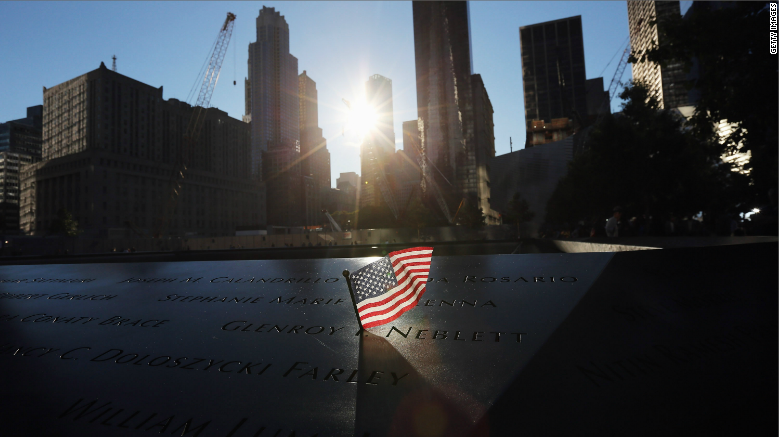 14 years later, it still hurts. The nation pauses to remember September 11, 2001: http://t.co/osVbjfuT0v #5Things