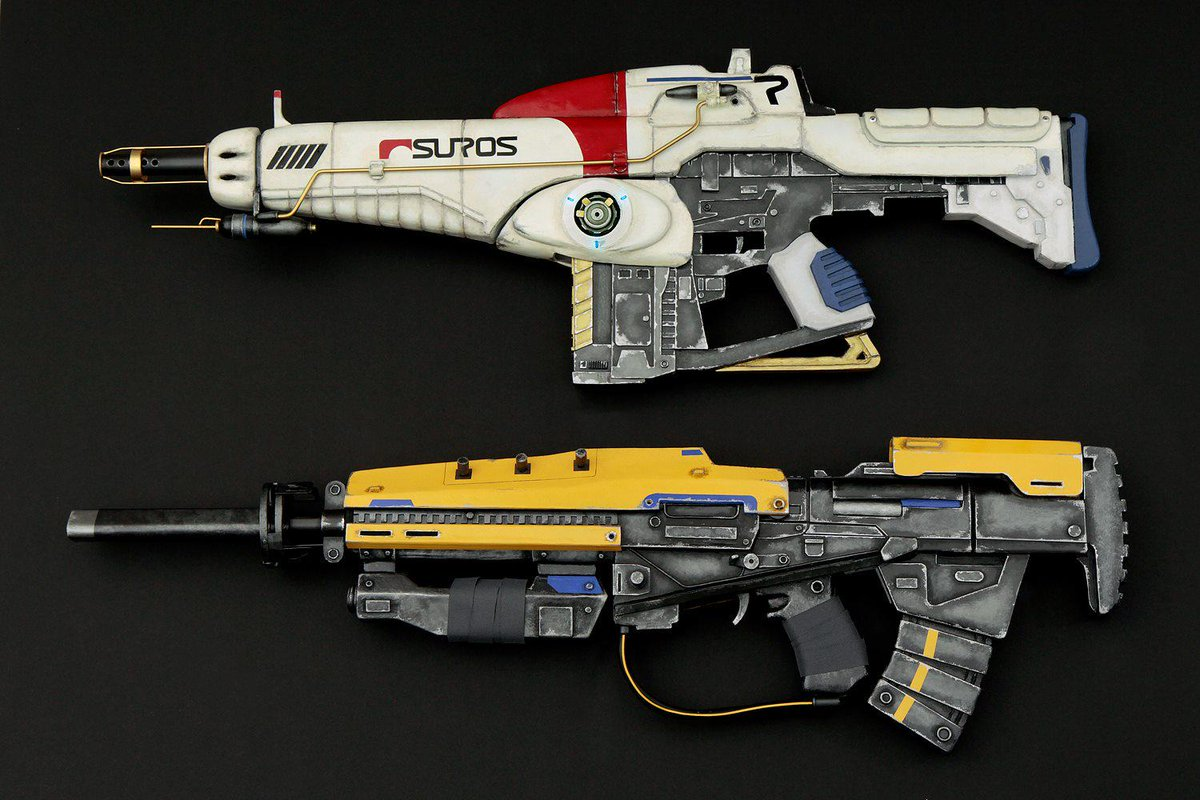 Angel Martin On Twitter His N Hers Destiny Cosplay Guns Made
