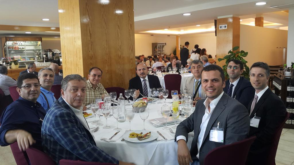 Turkish team during the lunch-break in #Eulis15 http://t.co/AtWMoiUe9I